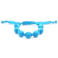 Chewbeads Cornelia Teething Bracelet, 100% Safe Silicone - Deep Sea Blue by Chewbeads