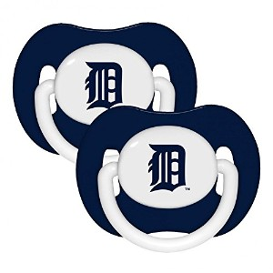 Baby Fanatic Pacifier, Detroit Tigers by Baby Fanatic