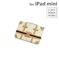 SINRA DESIGN WORKS Trolley Case トローリーケース for iPad mini(ホワイト)