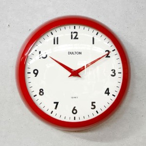[DULTON]ダルトン クロックWALL CLOCK RED S52639RD