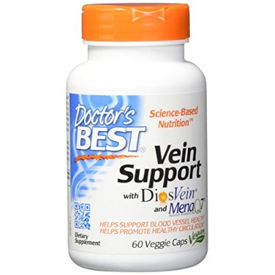 海外直送品 Doctors Best Best Vein Support Featuring DiosVein, 60 VCaps