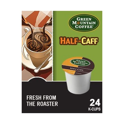Green Mountain Coffee Half Caff K Cups 4 Boxes of 24 K-Cups by Green Mountain Coffee