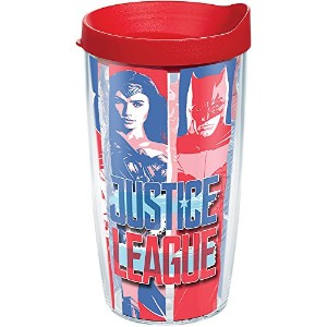 Tervis 16オンスJustice League Tumbler With Lid 16オンストラベルタンブラー