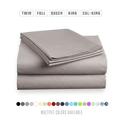 Luxe寝具ベッドシートセット – Brushed Microfiber 2000寝具 – Wrinkle、フェード、Stain – 低刺激性 – 4 Piece – ユニークなクリスマスPresen...