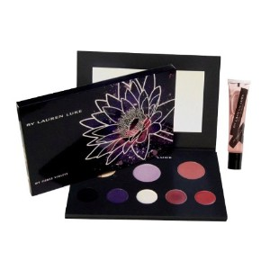 by My Fierce Violets-Complete Makeup Pallet- Includes 2 Shadow Primers, 3 Eye Shadows, Eye Liner,...