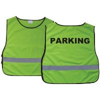 Swanson Christian Supply 44102 Safety Vest Parking Extra Large Green
