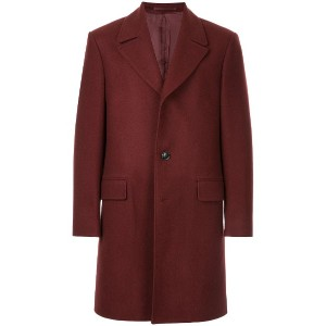 Gieves & Hawkes クラシック チェスターコート - レッド