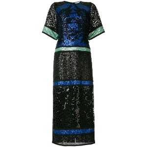 Elie Saab sequinned T-shirt gown - マルチカラー