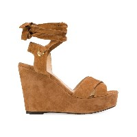 Tila March Cancun wedge sandals - ブラウン