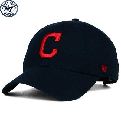 MLB インディアンス On-Field レプリカ クリーンナップ キャップ(ロード) Cleveland Indians Road On-Field Replica Clean Up...