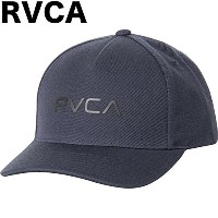 RVCA Curved Bill Snapback Hat Cap Navy キャップ 並行輸入品