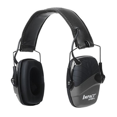 Howard Leight by Honeywell R-02524 Impact Sport Sound Amplification Electronic Earmuff, Black by...
