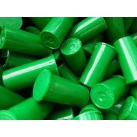 GREEN Color 30 Dram Pop Top Bottles- Vial Medical Herb Pill Container by Van Cave