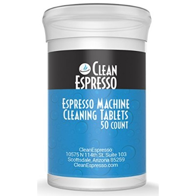 (50) - Espresso Machine Cleaning Tablets - (50 Pack) Model BR-050 - For Breville Espresso Machines.