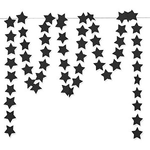 "GlitterゴールドTwinkle Star Hanging Garland – Sparkly用紙five-pointedホオジロバナー文字列for Kids寝室装飾誕生日背景、2.8、""..."