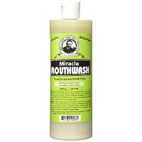 Uncle Harry's Natural Alkalizing Miracle Mouthwash, 16 Fl Oz by Uncle Harry's Natural Products