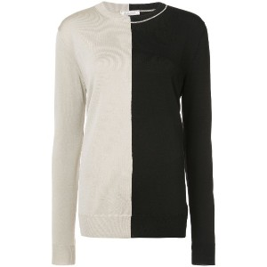 Nina Ricci colour block sweater - グレー