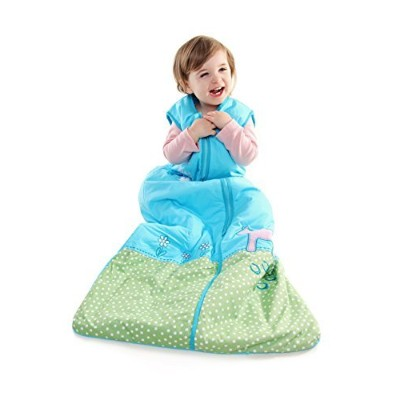 SlumberSafeTM Girls Cotton Sleep Sack Wearable Blanket 2.5 Tog Pony 12-36 months LARGE by Schlummers...