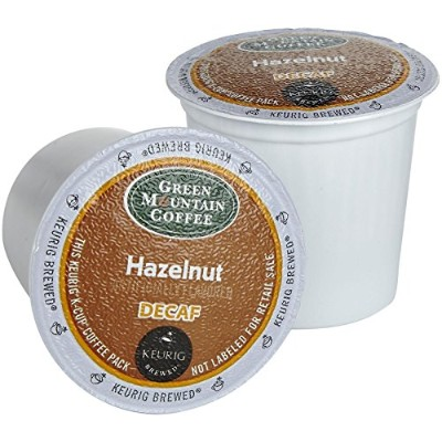 Green Mountain Coffee Hazelnut Decaf K-Cups for Keurig Brewers - 18 K-Cups by Green Mountain Coffee