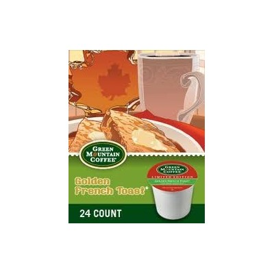 Green Mountain *Limited Edition* GOLDEN FRENCH TOAST (1 Box of 24 K-Cups) by Green Mountain Coffee