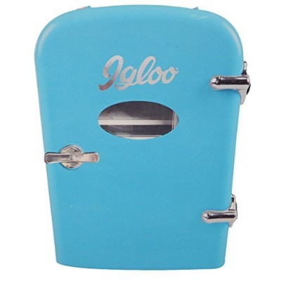 Igloo Mini Compact Refrigerator (Blue) by Curtis International