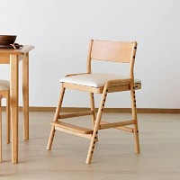 ISSEIKI ダイニングチェアー 子供 学習椅子 ナチュラル 幅45 FIORE-KD DESK CHAIR (NA-WH)