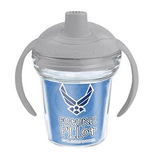 TervisタンブラーUS Air Force将来パイロット6oz Sippy Cup withグレー蓋