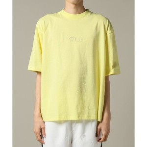 FILA Heritage collection S/S House-Logo T-shirts【ジャーナルスタンダード/JOURNAL STANDARD メンズ Tシャツ・カットソー イエロー...