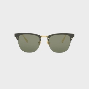 【SALE 30%OFF】アセテートバタフライフレームシェイド / ACETATE BUTTERFLY FRAME SHADES (Green)