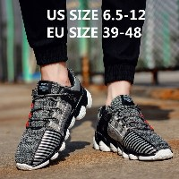 Plus Size Running Shoes for Men Fashion Men Sneakers Men Breathable Outdoor Sport Shoes Zapatillas H