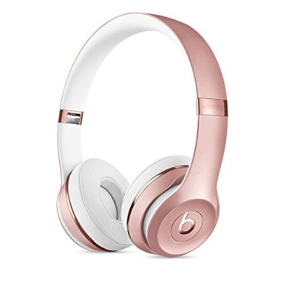 Beats by Dr.Dre ワイヤレスヘッドホン Beats Solo3 Bluetooth対応 密閉型 オンイヤー リモコン有り ローズゴールド MNET2PA/A BT SOLO3 WL...