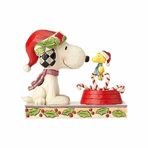 enesco PEANUTS DESIGNS BY JIM SHORE フィギュア スヌーピーSnoopy & Woodstock #4057678 4057678