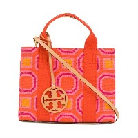 Tory Burch printed mini Tory tote - イエロー&オレンジ