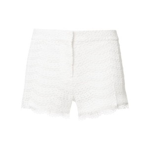 Giambattista Valli embroidered shorts - ホワイト