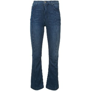 Rachel Comey flared cropped jeans - ブルー
