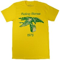 THE ROLLING STONES ローリングストーンズ Eagle With Amp 1975 Tシャツ