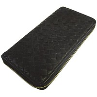 UPPER WEST 長財布 WOVEN WALLET BK UWT436 [正規代理店品]