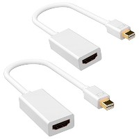 Patech Thunderbolt to HDMIケーブル MiniDisplayPort to HDMI変換アダプタ Apple Macbook/Macbook Pro/iMac/Macbook...