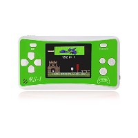 E-MODS GAMING? RS-1 NEW! 8-Bit Retro 2.5 LCD 162x Video Games Portable Handheld Console (Green) by...