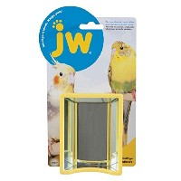 JW Pet Activitoy Hall of Mirrors Fun Interactive Birds Parakeets Cockatiels Toy