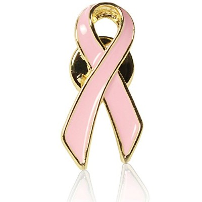 Official Breast Cancer Awareness Pink Lapel Pin - 10, 50, 100 Units