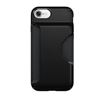 Speck Products Presidio Wallet Case for iPhone 7 - Black/Black [並行輸入品]