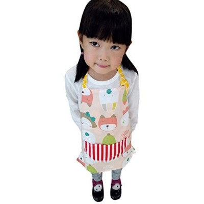 (2T to 3T, Style 2) - CRB Toddler Little Girls Boys Baking Bakware Cute Chef Baking Top Apron with...