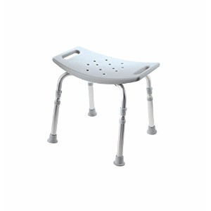 Medline Industries MDS89740KDMB Knockdown Bath Bench with Microban, Tool Free Assembly (Pack of 2)...