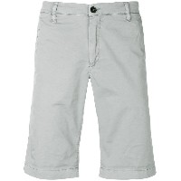 Peuterey knee length chino shorts - グレー