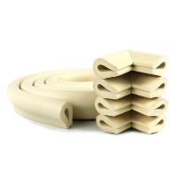 Baby Safety Corner Cushion Bumper Edge Guards for all Furnitures , Eco Friendly by The Elixir Eco