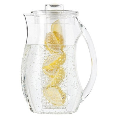 Vebo Tea and Fruit Infusion Pitcher with Ice Coreロッド – 2.9クォート水ピッチャーInfuser