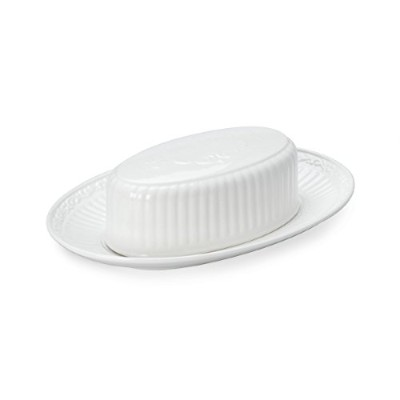 Mikasa Italian Countryside Covered Butter Dish