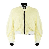 Haider Ackermann quilted bomber jacket - イエロー&オレンジ