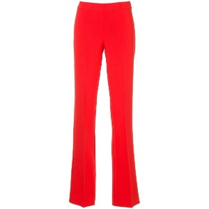 P.A.R.O.S.H. flared tailored trousers - レッド
